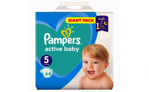 Pampers Nr.5 Active Baby Scutece