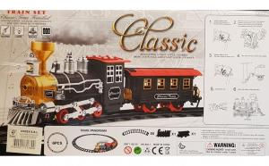 Train Set Classic - Trenul care scoate aburi