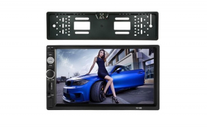 Mp 5 player 2 din Camera Plate