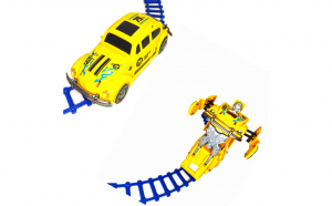 Masinuta Taxi Transformers 18 cm