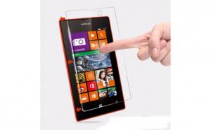 Folie Sticla Securizata Nokia Lumia 520, transparenta