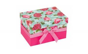 Cutie de ambalare Hartie Trandafiri