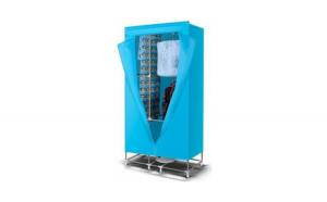 Uscator electric de rufe, cu aer cald