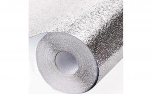 Set 3 x Folie bucatarie de Aluminiu autoadeziva pentru Aragaz  40 x 500 cm (SILVER)