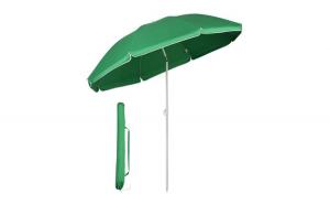 Umbrela soare rotunda UV20+ Verde 160 cm