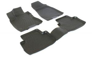 Covoare cauciuc stil tavita Nissan X-Trail II 2007-2013 ( 3D 0295 -  A10 )