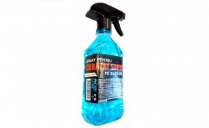 SPRAY PENTRU CURATAT SUPRAFETE, PE BAZA ALCOOL (EFECT DEZINFECTANT) 450ML