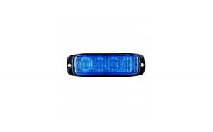Stroboscop profesional albastru 4 LED