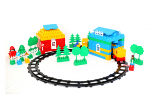 Trenulet cu sina pentru copii
