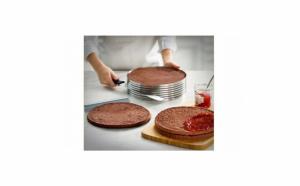 Forma reglabila pentru tort, diametru 16-20 cm