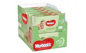 Servetele umede Huggies Natural Care