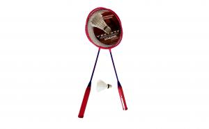 Rachete badminton aluminiu, roz