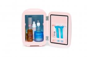 Mini frigider cosmetic roz, 4L, TeamDeals 10 Ani, Ingrijire personala