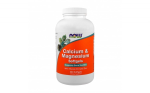 Calcium  Magnesium Vit D si Zinc   Now Foods   240softgels