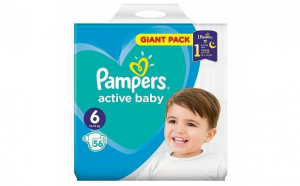 Pampers Nr.6 Active Baby Scutece