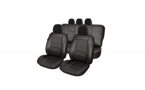 Set Huse Scaune Auto DACIA LOGAN I 2004--2012 Exclusive Leather King