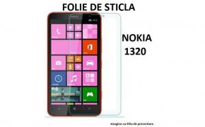 Folie Sticla Securizata Nokia Lumia 1320, Transparenta