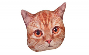 Perna decorativa, model pisicuta