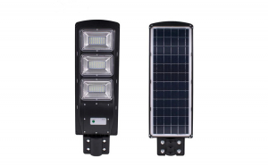 Lampa solara stradala 120W SMD, cu senzor de miscare si telecomanda