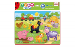 Puzzle Ferma 24 piese Roter Kafer