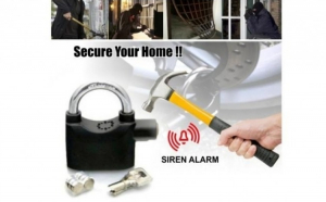 Lacat cu alarma inclusa