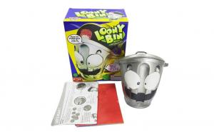 Joc Loony Bin, cosul de gunoi singuratic, pentru copii, creativ si distractiv