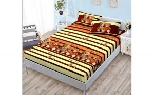 Husa pat cu Elastic din Bumbac H26