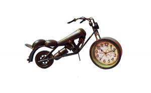 Ceas de masa, In forma de motocicleta,