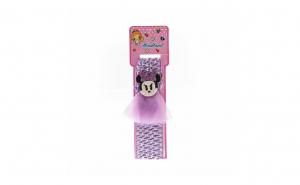 Bentita pentru copii, cu aplicatie Minnie Mouse, Mov