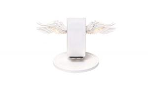 Incarcator Wireless fast charge de 10W cu aripi de inger