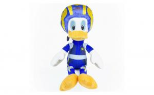 Jucarie de plus Donald Duck Pilot de curse 25 CM