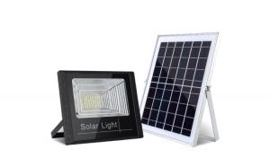Proiector LED 60W cu panou solar si