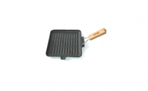 Tigaie grill fonta 24 x 24cm