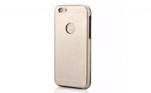 Husa Apple iPhone 6/6S Motomo V2 Auriu