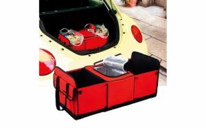 Organizator pentru portbagaj, cu compartiment termoizolant