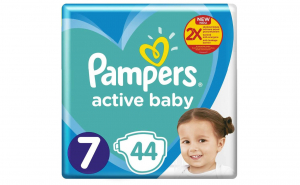 Pampers Nr.7 Active Baby Scutece