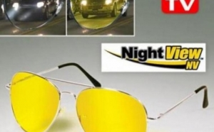 Ochelari Pentru Condus Noaptea Night View!! Protectie anti UV, potriviti pentru vanatoare, pescuit, camping, la 29 RON in loc de 60 RON !