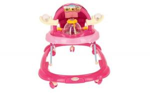 Premergator pentru copii multifunctional cu figurine, MICMAX - ROZ