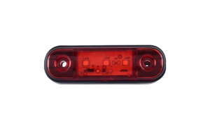 Lampa gabarit laterala, lampa avertizare, 3SMD, 12-24V, rosu