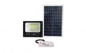 Proiector LED cu panou solar, 200W