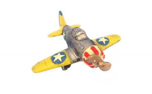 Avion cu elice 25x24 cm Yellow
