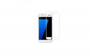 Tempered Glass - Ultra Smart Protection Samsung Galaxy S7 White fulldisplay