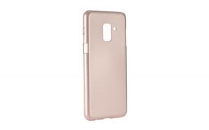 Husa Mercury iJelly Metal, Samsung Galaxy A8 Plus, Rose Gold