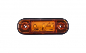 Lampa gabarit laterala, lampa avertizare, 3SMD, 12-24V, galben