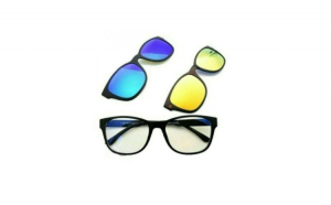 Ochelari de soare 3in1 cu lentile interschimbabile
