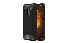 Husa Hybrid Armor Tough Rugged pentru Xiaomi Pocophone F1 black