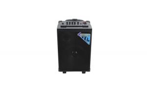Boxa Activa Portabila Tip Troller, Soundvox™ Q8, Microfon Inclus, Culoare Neagra