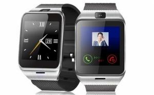 SmartWatch -Cadran Metalic - Telefon, camera, microSIM, microSD