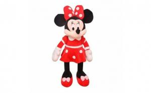 Jucarie de plus Minnie Mouse, rosu, 80cm, Totul pentru copilul tau, Fetite