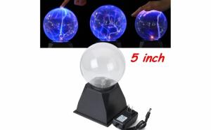 Lampa decorativa Glob cu plasma